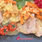 Natur šnicle u sosu i mirišljavi krompiri