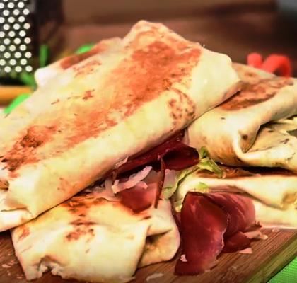 Hrskavi sendvič sa tortiljama