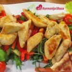 Raskošna pileća obrok salata