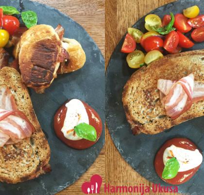 Neodoljivi sendvič sa slaninom