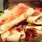Hrskavi tortilja sendvič